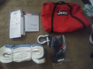 WARN brand Winch Line Kit for Jeep for Sale in Rialto, CA