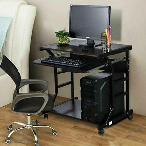 Table Workstation Home Office Desk Furniture in Black for Sale in Los Angeles, CA
