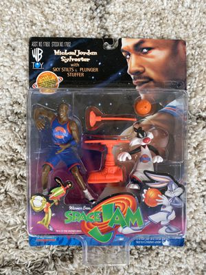 Michael Jordan Space Jam Collectible for Sale in Aurora, IL
