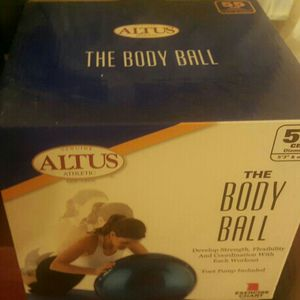 Exercise or yoga ball, OBO for Sale in Quincy, MA