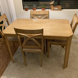 Dining Table And 4 Chairs for Sale in San Diego, CA