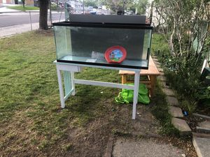 Fish tank and stand for Sale in West Valley City, UT