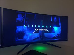 Alienware AW3418DW 34in 120hz GSYNC for Sale in Miami, FL
