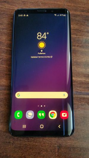 Unlocked galaxy s9 samsung for Sale in Fullerton, CA