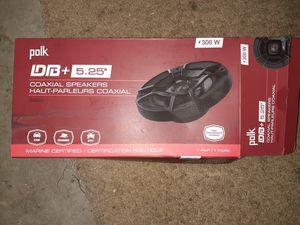 Polk Audio 5.25 inch speakers for Sale in Fremont, CA