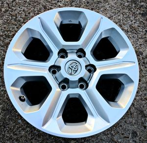 "2019 TOYOTA TACOMA / 4-RUNNER RIMS OEM NEW 17"" INCH for Sale in Houston, TX"