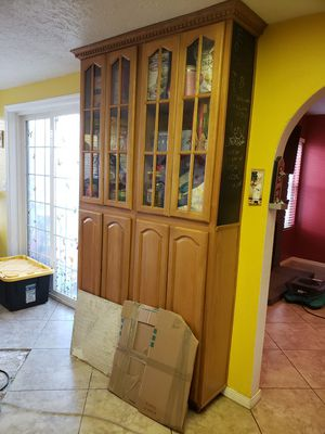 Kitchen cabinet pantry for Sale in Moreno Valley, CA