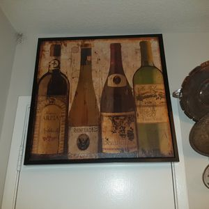 Wine Bottles Art/ Painting for Sale in Milpitas, CA