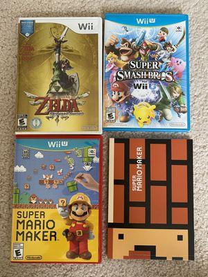 Nintendo Wii /Wii U Games set for Sale in Hoffman Estates, IL