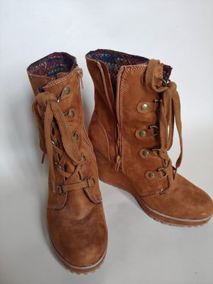 Tan suede boots for Sale in Aurora, OR