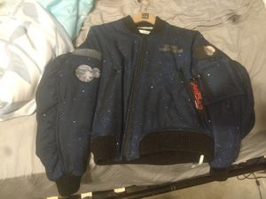 Off White Art Dad bomber jacket for Sale in Carrollton, TX