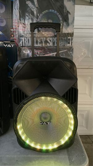 Bluetooth Speaker/5800 WATTS/Rechargeable for Sale in Baldwin Park, CA