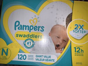 Newborn pampers for Sale in Taylors, SC
