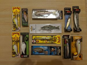 Lot of Bass fishing baits / lures for Sale in Chandler, AZ