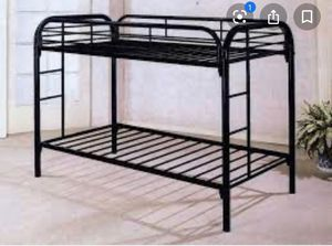 Metal bunk bed for Sale in Peabody, MA