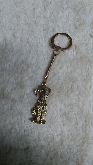 Vintage poodle key chain. NOT real gold for Sale in Freeland, PA