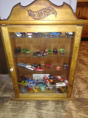 Hot wheels case plus cars for Sale in Manton, MI