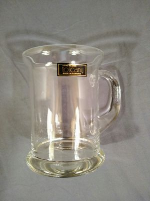 Vtg Hand-blown Tuscany 16 oz Glass Beer Mug for Sale in Monroeville, PA