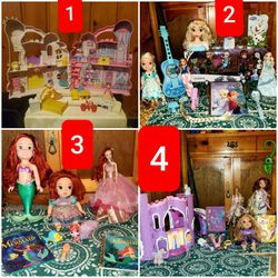 DISNEY PRINCESS LOTS SELLING SEPARATELY: Prices Are Listed In The Description for Sale in Tustin,  MI