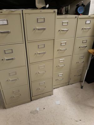 File cabinets... I have several of them.. $85 each for Sale in West Covina, CA