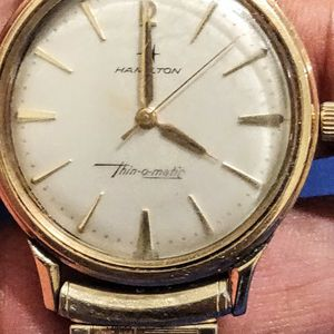 Hamilton Vintage Thin-o-matic 10K Gold filled Mens Watch for Sale in Vernon Hills, IL