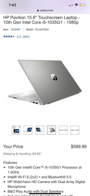HP Pavilion Touchscreen Laptop for Sale in Travis Air Force Base, CA