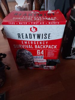 Ready Wise Emergency Backpack 64 Pcs for Sale in Los Angeles,  CA