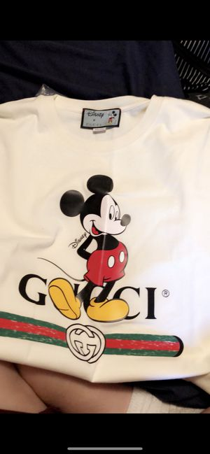 Real Gucci Disney Mickey Mouse shirt for Sale in Baldwin Park, CA