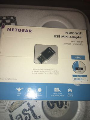 Mini USB WiFi adapter $15 for Sale in Garland, TX
