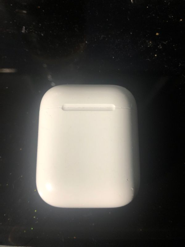 AirPod case only (without) AirPods inside