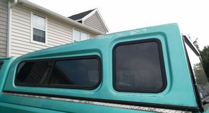 I am selling camper for truck is in good condition open windows I ask $100 for Sale in Hilliard, OH