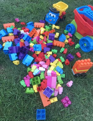 Mega blocks con Wagon for Sale in El Monte, CA