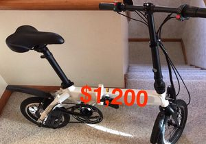 Electric Foldable Bicycle for Sale in Chicago, IL
