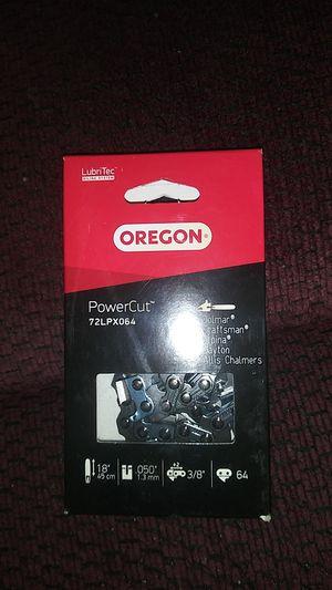 Oregon power cut chain for chainsaw for Sale in La Vergne, TN