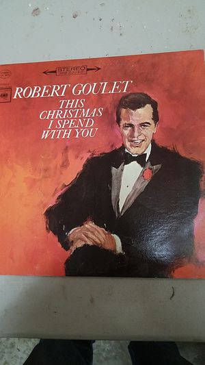 Robert Goulet Christmas album for Sale in Lakewood, WA