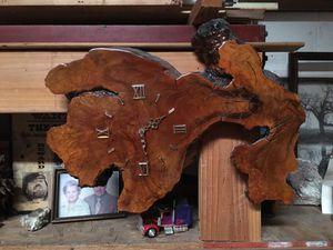BurlWood Clock for Sale in Gardena, CA