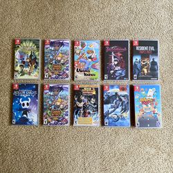 Like-New Nintendo Switch Games for Sale in Seattle,  WA