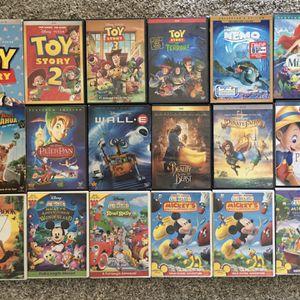 Walt Disney Pixar DVD Lot Disney Movies Kids Movies for Sale in Fontana, CA