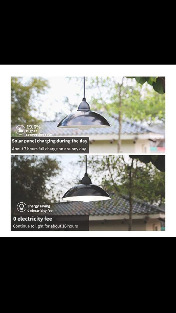 Solar Lights Outdoor, LOZAYI IP65 Waterproof Solar Light,Remote Control 16.4Ft Cord LED Shed Light