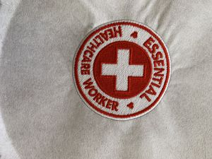 Health care worker essential patch fully embroidered for Sale in Spring Hill, FL