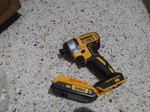 Dewalt Impact Driver with battery $100 for Sale in Miami, FL