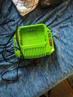 Greenworks 60v charger for Sale in NO BRENTWOOD, MD