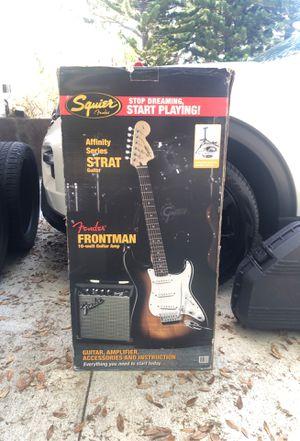 Fender Squier Guitar w/ 10-watt Guitar Amp for Sale in Seminole, FL