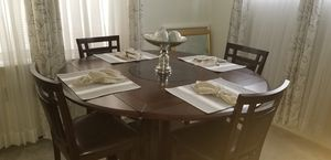 Brand new dark wood dining room table set for Sale in Clifton Heights, PA