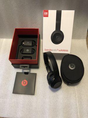 Beats Solo3 Bluetooth Wireless Matte Black headphones for Sale in Washington, DC