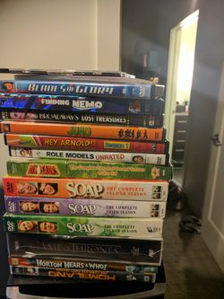 Assorted DVDs and DVD player for Sale in Washington,  DC