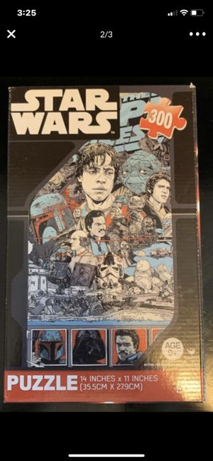 STARWARS DISNEY PUZZLE GAME for Sale in Fort Lauderdale, FL