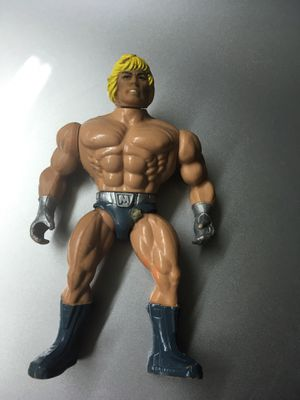 Vintage Laser Light He Man MOTU Action Figure Toy Collection. Made in Italy for Sale in El Paso, TX