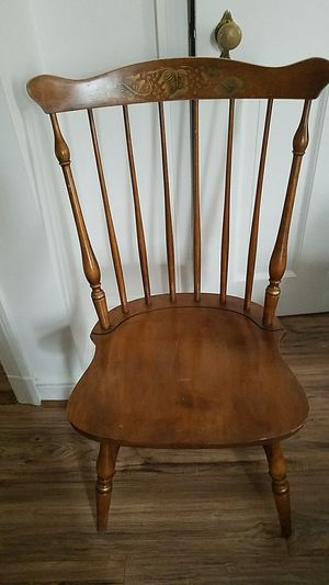 Antique wooden chair for Sale in Arlington, VA