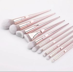 10pc Makeup brush set for Sale in San Antonio, TX